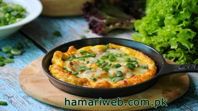 Cheese Omelette Recipe Quick and Easy