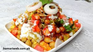 Chat Recipe Chickpeas Chat